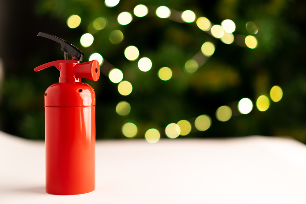Office Fire Safety and Security at Christmas